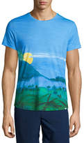 Orlebar Brown Jungle Vista Digital-Print Short-Sleeve T-Shirt