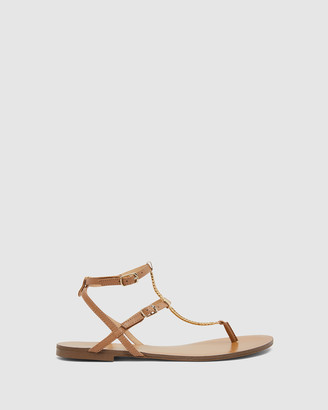Ravella - Women's Brown Sandals - Saskia - Size One Size, 36 at The Iconic