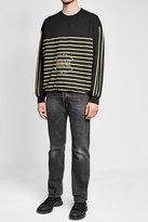 Balenciaga Homme Embroidered Cotton Sweatshirt