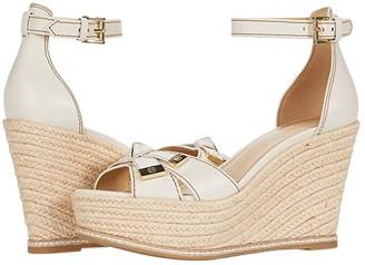 MICHAEL Michael Kors Ripley Wedge (Light Cream) Women's Shoes