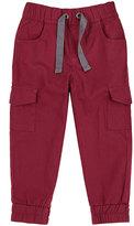 Petit Lem Red & Gray Joggers - Toddler & Boys