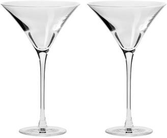 Krosno Duet Martini Glass 170ML Set of 2 Gift Boxed