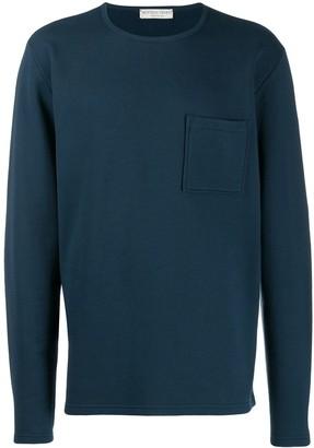 Bottega Veneta Patch Pocket Crew Neck Sweater