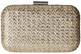 Jessica McClintock Molly (Gold Metallic) Clutch Handbags