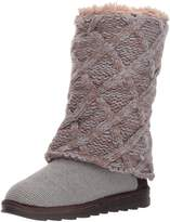 Muk Luks Women's Shawna Fashion Boot, Grey,edium US