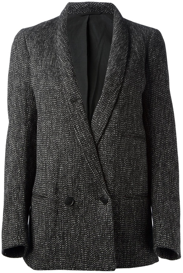 Christophe Lemaire double breasted jacket