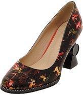 ENMAYER Women's Block Heel Pointed Toe Pumps 9 B(M) US