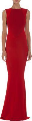 Stella McCartney Sleeveless Seam Detailed Gown