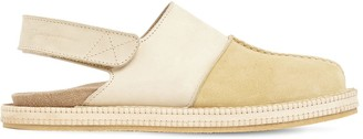 Jacquemus Les Mules Suede & Leather Loafers
