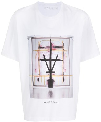 Craig Green graphic print cotton T-shirt