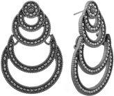 Liz Claiborne Gray Chandelier Earrings