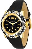 Glam Rock Women's GR40503 Smalto Collection Black Techno Silk Watch