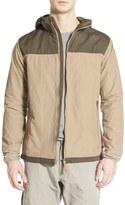 Fjäll Räven 'Abisko' Hooded Hybrid Jacket