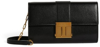 Tom Ford Leather T-Clasp Chain Shoulder Bag