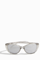 Linda Farrow Luxe Truffle Gold Cat-Eye Sunglasses