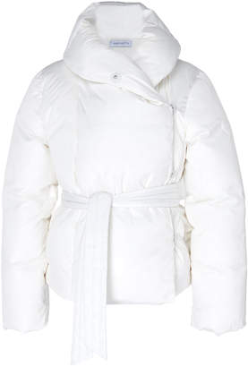 Saks Potts Bubble Shawl-Collar Puffer Jacket Size: 1