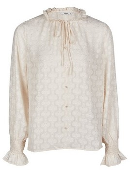 Dorothy Perkins Womens Only White Burnout Blouse, White