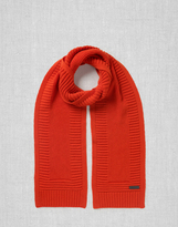 Belstaff Kameron Scarf Red Orange