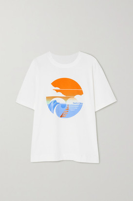 See by Chloe Summer Wave Cotton-jersey T-shirt