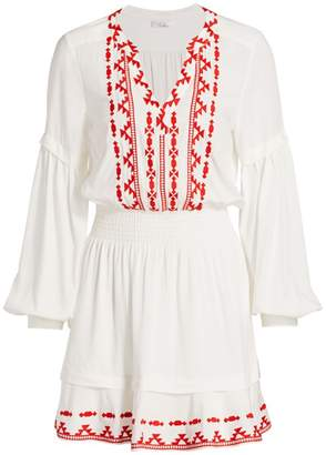 Parker Arlington Embroidered Dress