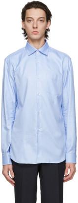 Comme des Garçons Homme Deux Blue Oxford Shirt