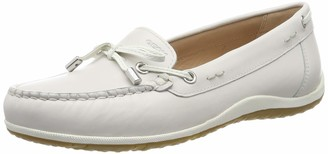 Geox Women's Vega B Leather Moccasin Shoe