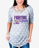 Gameday Couture Women's Lsu Tigers Polka Dot T-Shirt