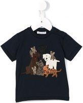 Dolce & Gabbana animals patch T-shirt