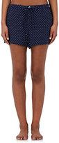 Sleepy Jones Women's Paloma Star-Print Silk Pajama Shorts