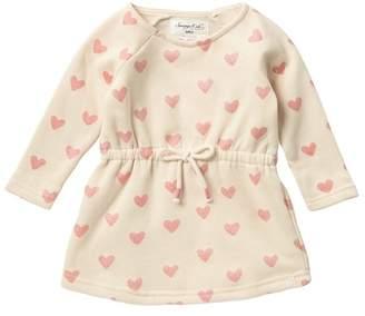 Sovereign Code Dawn Heart Print Dress (Baby Girls)
