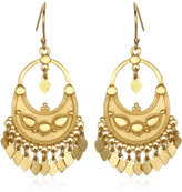 Satya Jewelry Lotus Flower Chandelier Earrings