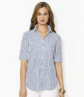 Lauren Ralph Lauren Carter Roll-Sleeve Shirt