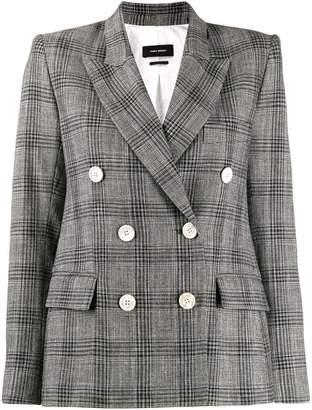Isabel Marant check pattern blazer