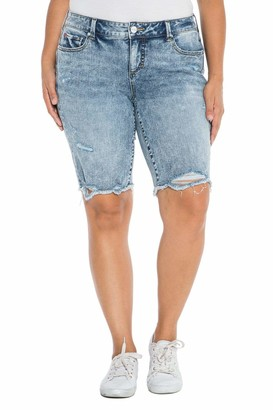 SLINK Jeans The Easy Fit Short in Flo Size 20