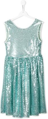 Le Gemelline By Feleppa TEEN sleeveless sequin dress