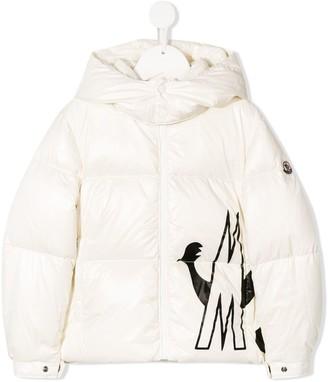Moncler Enfant contrast M padded jacket