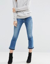 Only Nadia Cropped Flare Jean