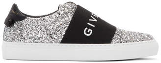 Givenchy Black and Silver Urban Street Sneakers