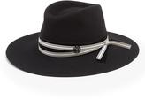 Maison Michel Charles rabbit-fur felt hat