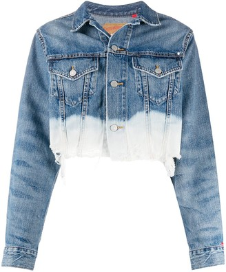 Denimist Cropped Denim Jacket