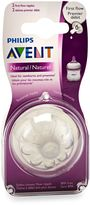 Philips Natural 2-Pack First Flow Nipples