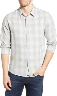 The Normal Brand Jackson Buffalo Check Flannel Button-Up Shirt