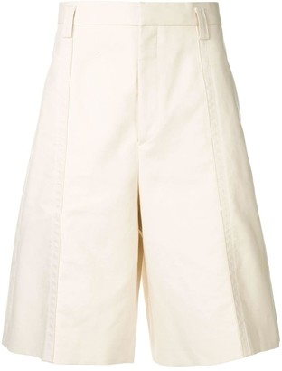 Jil Sander wide leg chino shorts