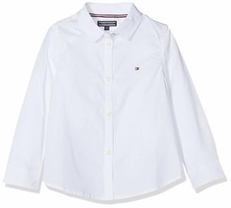 Tommy Hilfiger Girl's Stretch Poplin Shirt L/s Blouse