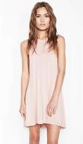 Michael Lauren Scotty High Neck Mini Dress