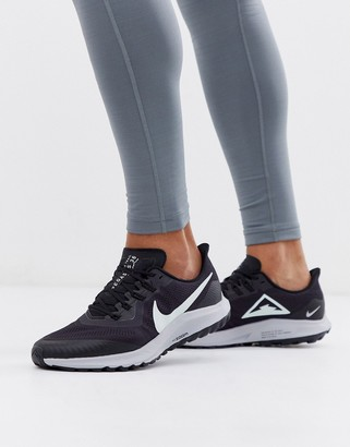 Nike Running Pegasus 36 trail sneakers in black