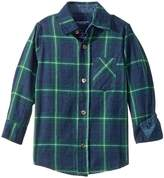 Toobydoo Check Flannel Shirt (Infant/Toddler/Little Kids/Big Kids)