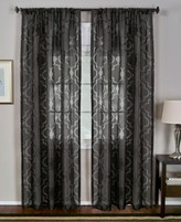 "Montego Elrene Elrene Sheer Burnout 52"" x 84"" Panel"