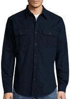 ST. JOHN'S BAY St. John's Bay Long-Sleeve Chamois Shirt