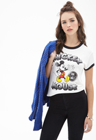 Forever 21 Mickey Mouse Ringer Tee
